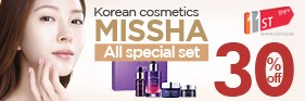 Korean cosmetics brand MISSHA Sale